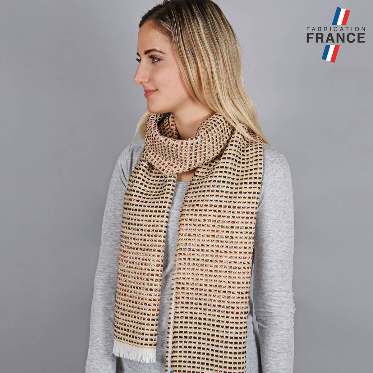 AT-05580_W12-1FR_Echarpe-femme-beige-fabrication-francaise