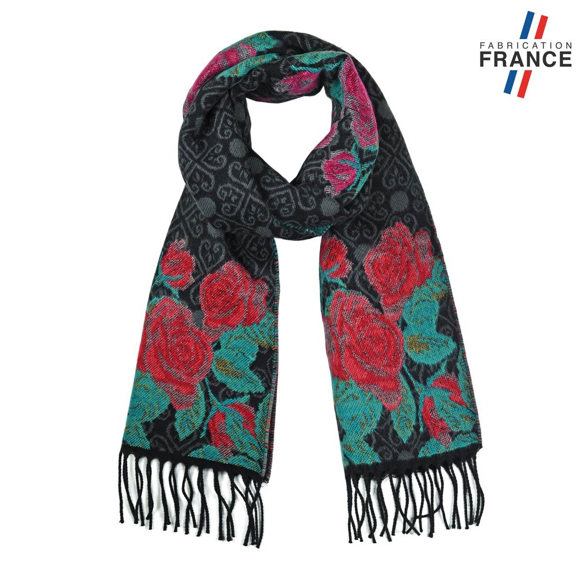 AT-05630_F12-1FR_Echarpe-femme-noire-roses-rouges