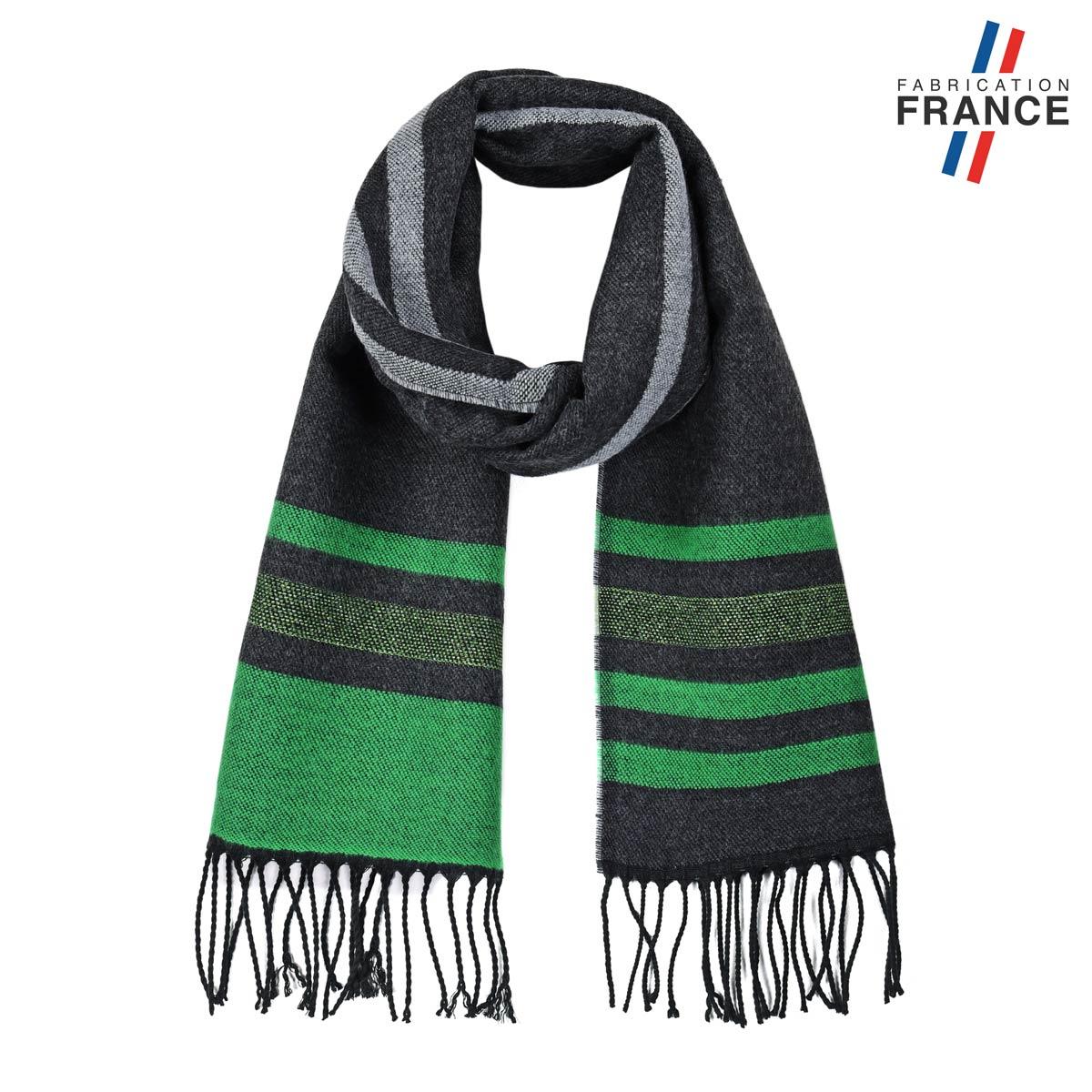 AT-05785_F12-1FR_Echarpe-rayures-vert-noir