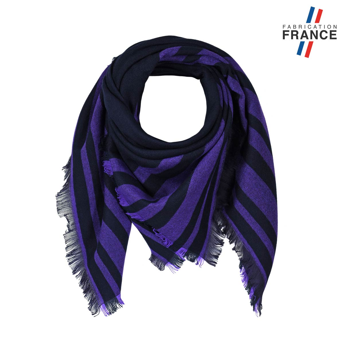 AT-05825_F12-1FR_Echarpe-carree-rayures-violettes-made-in-france