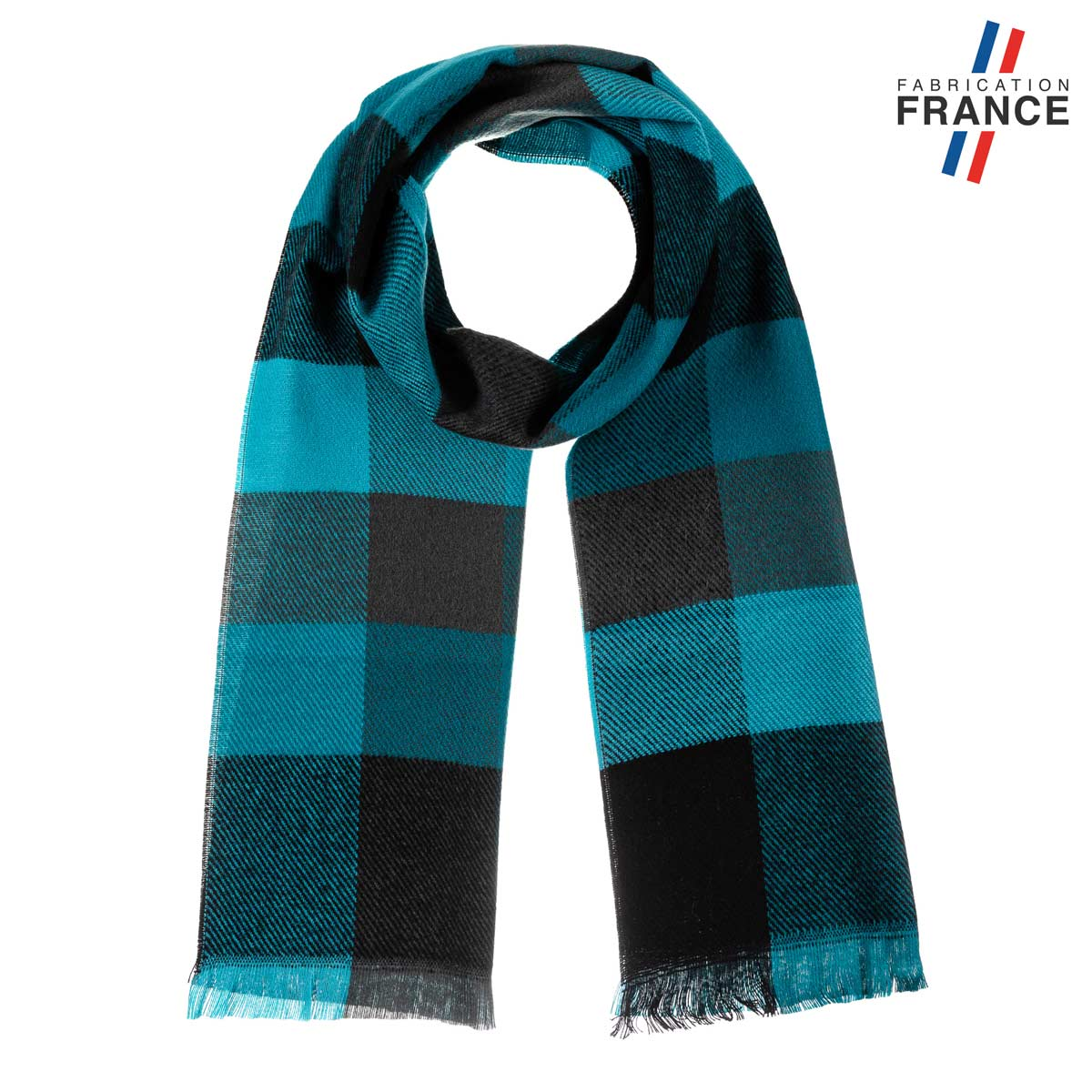 AT-06212_F12-1FR_Echarpe-a-carreaux-turquoise-fabrication-francaise