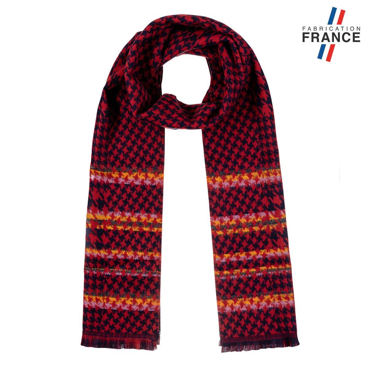 AT-06229_F12-1FR_Echarpe-femme-pied-poule-bordeaux