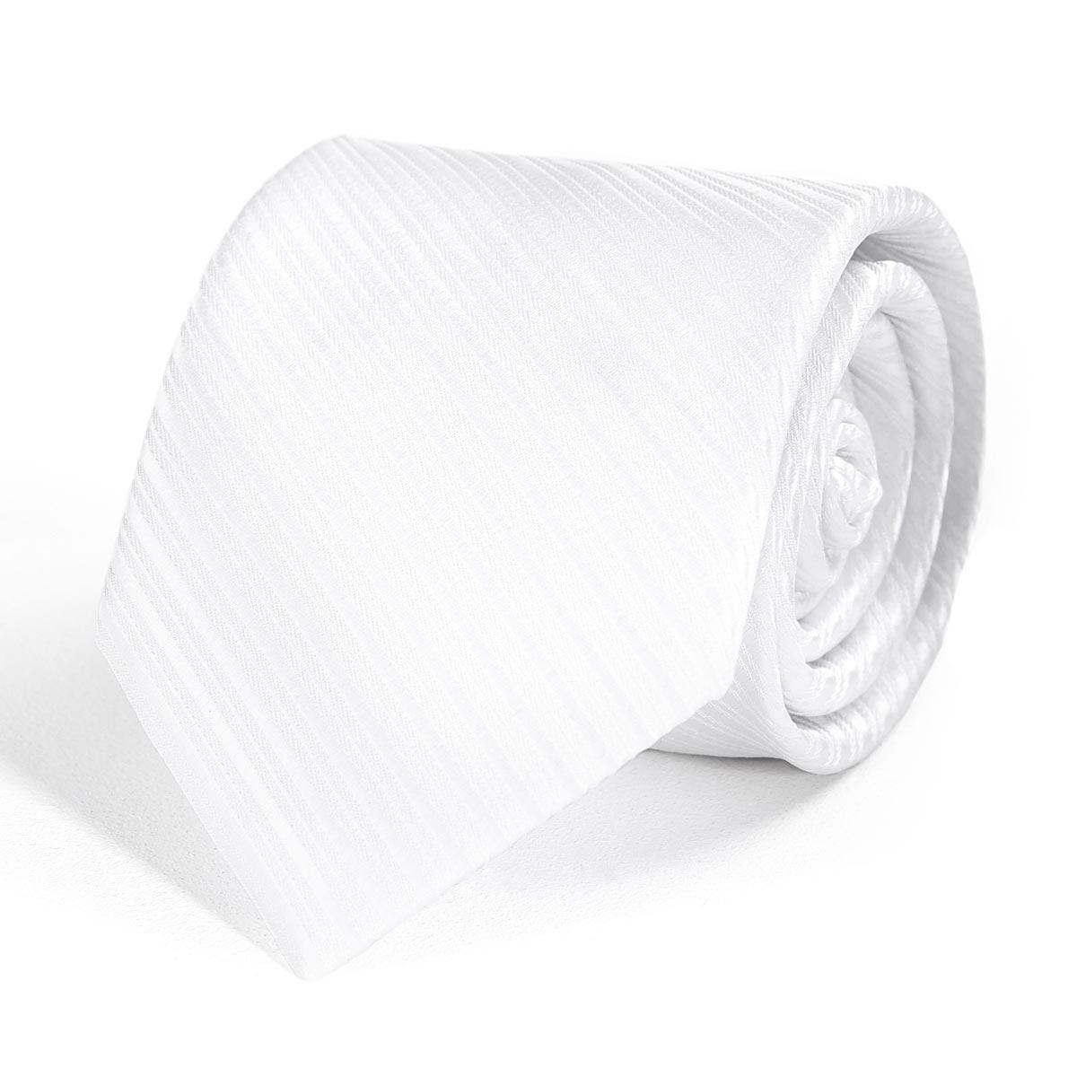 _Cravate-faux-uni-blanc-dandytouch
