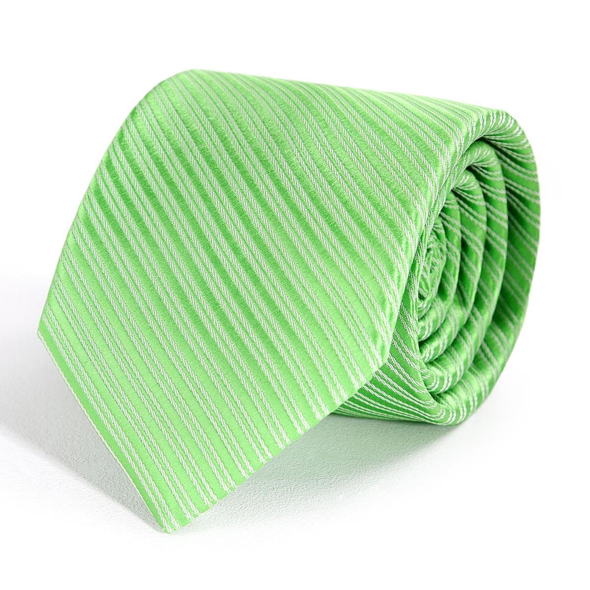 _Cravate-faux-uni-vert-pomme