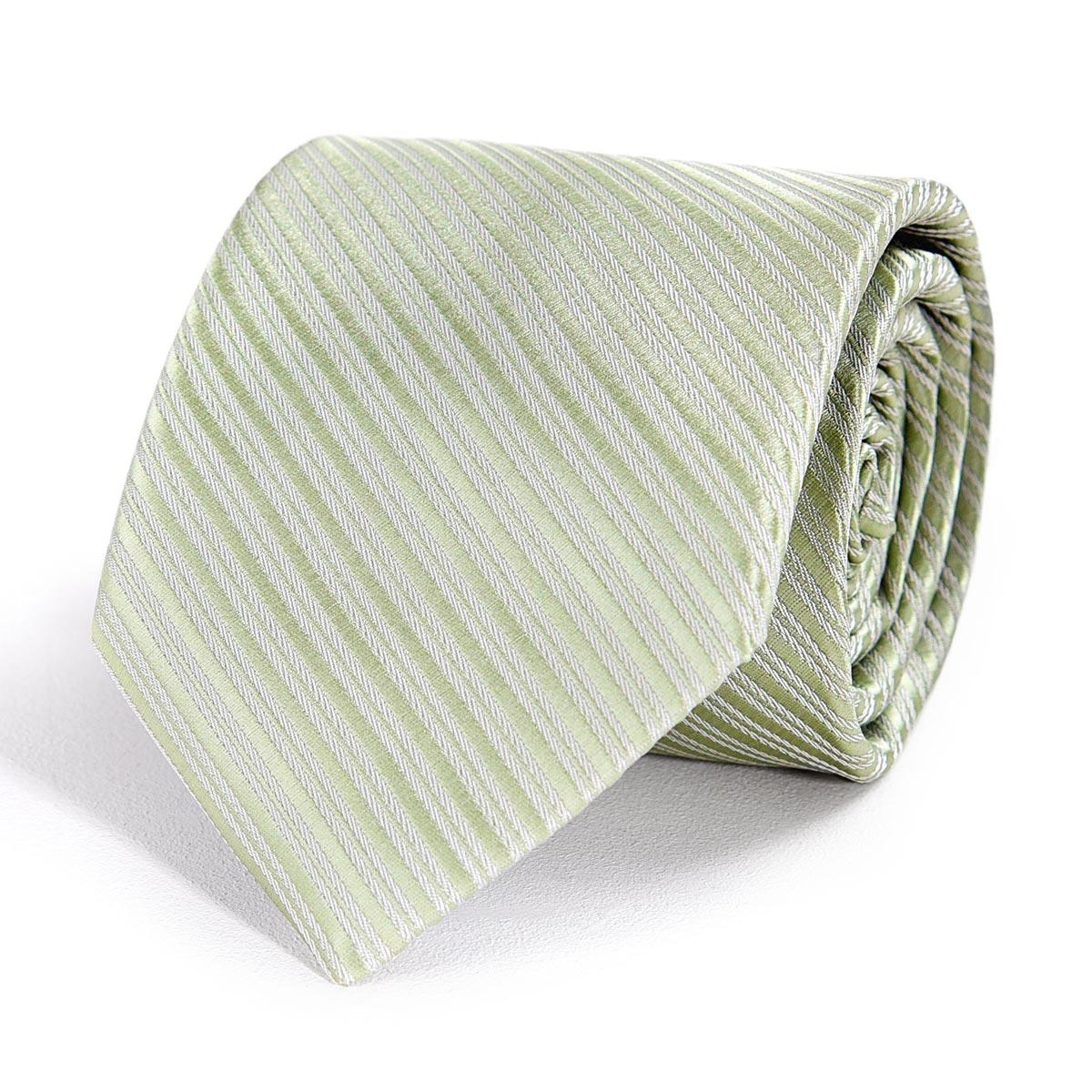 _Cravate-faux-uni-vert-tilleul