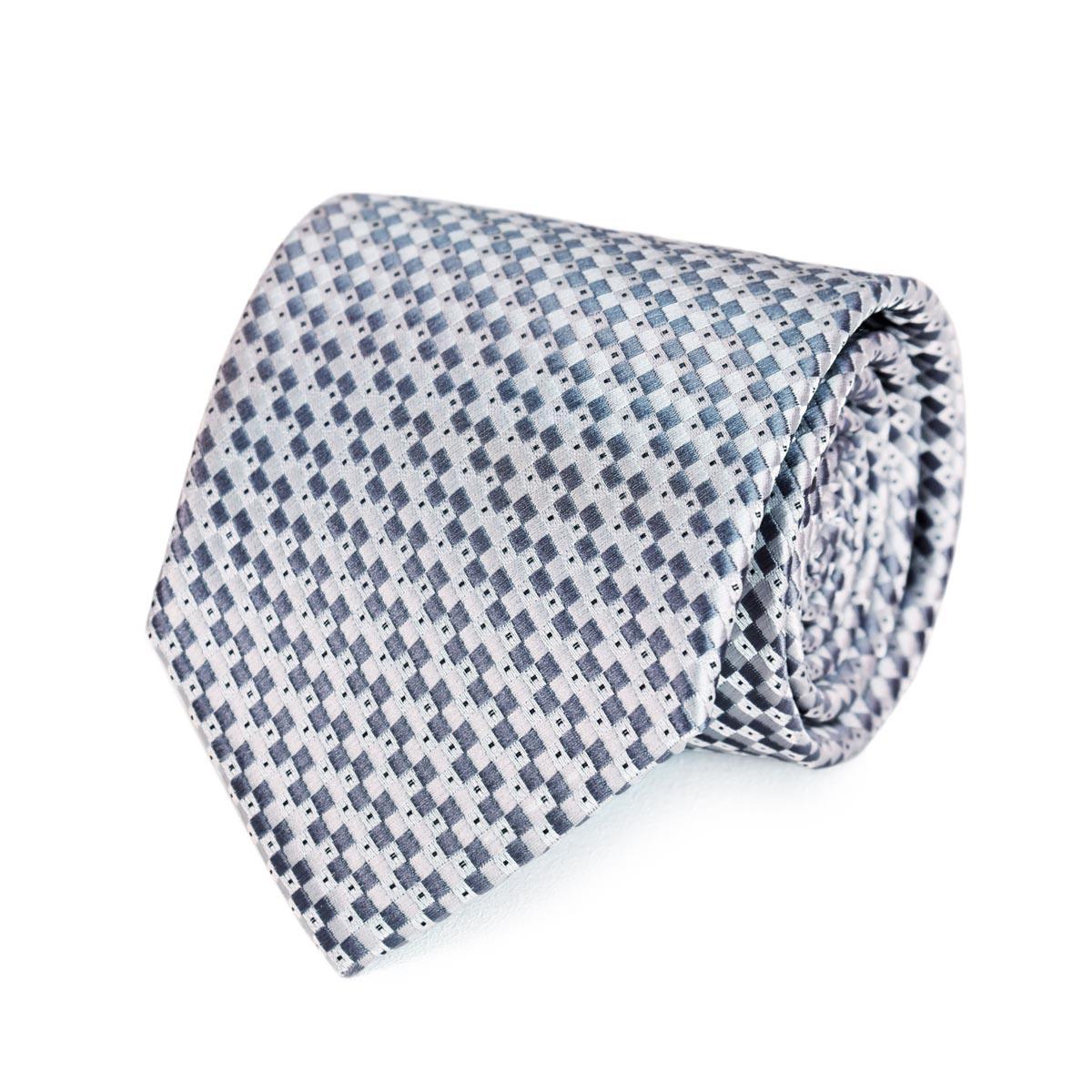 _Cravate-damier-gris