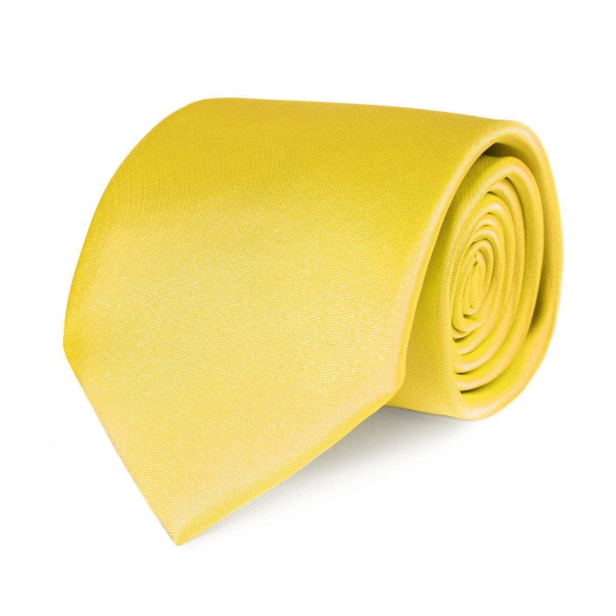 _Cravate-jaune-uni-homme