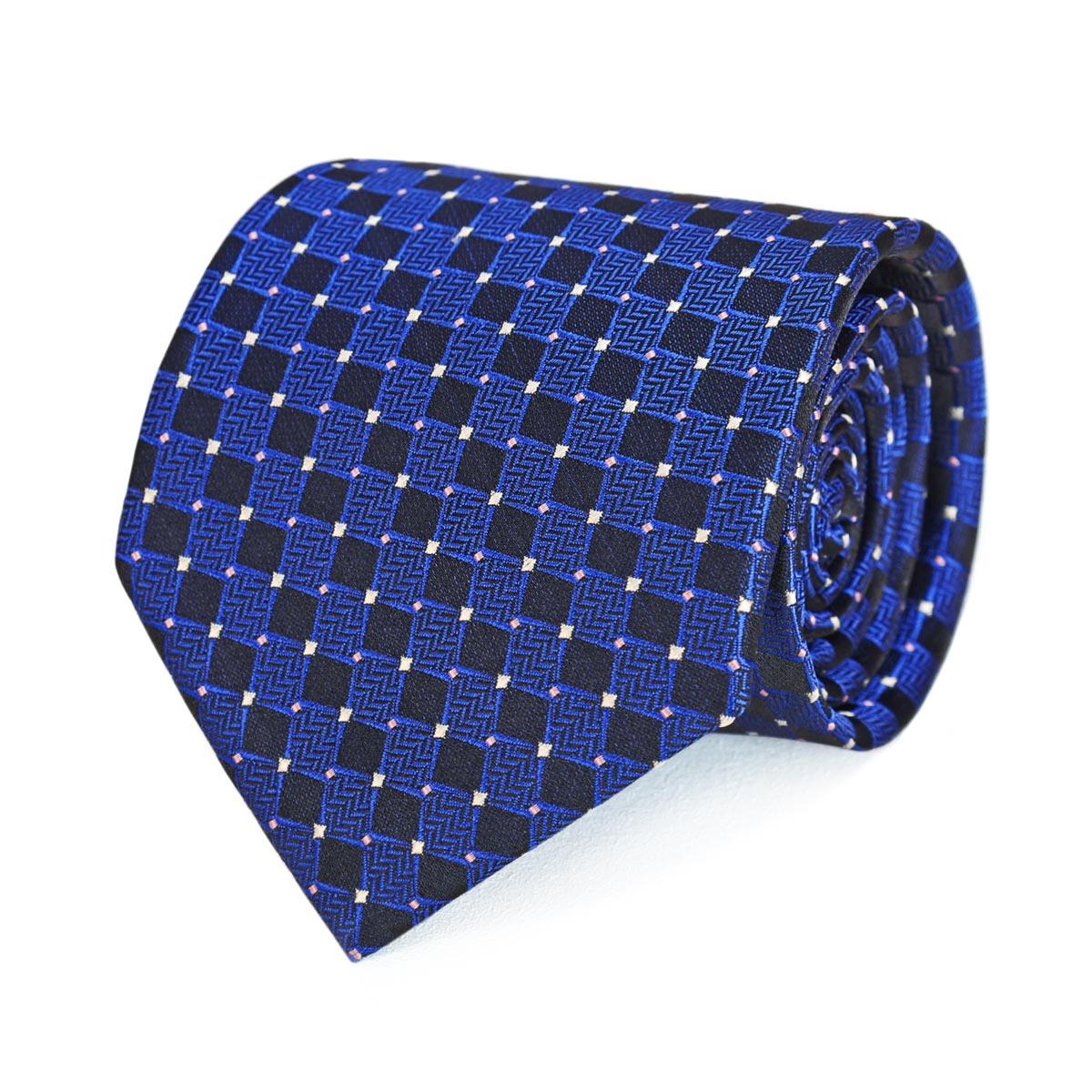 _Cravate-a-carreaux-noir-bleu