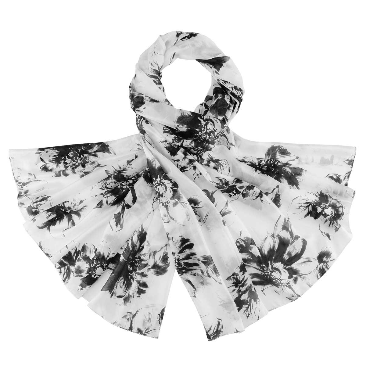 _Etole-en-soie-fusain-floral-noire