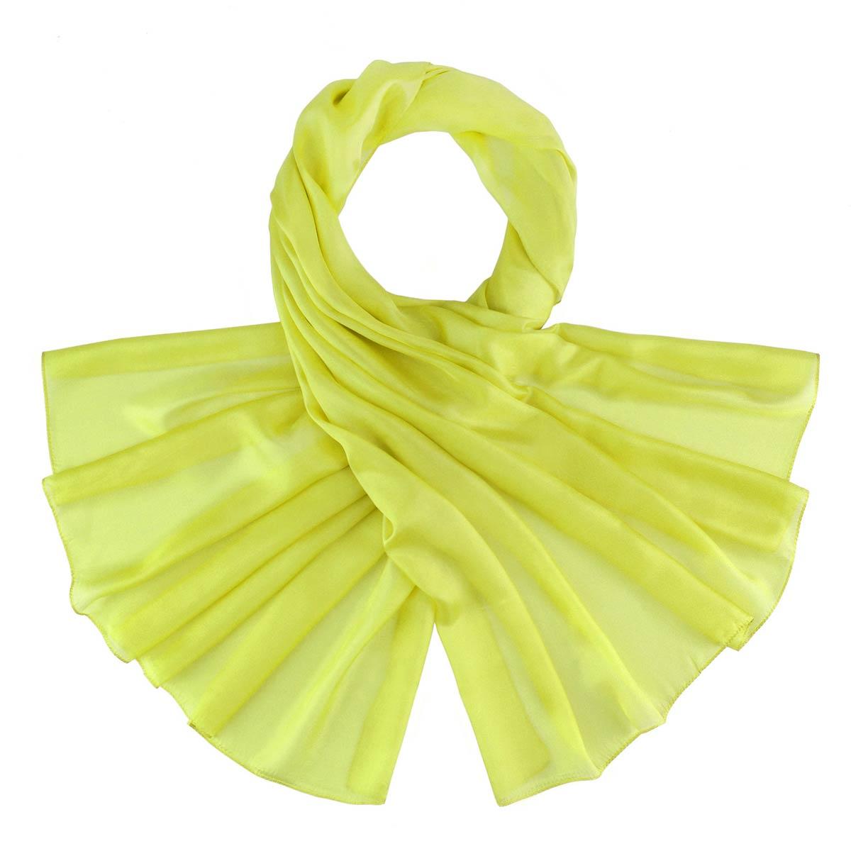 _Etole-soie-jaune-vert