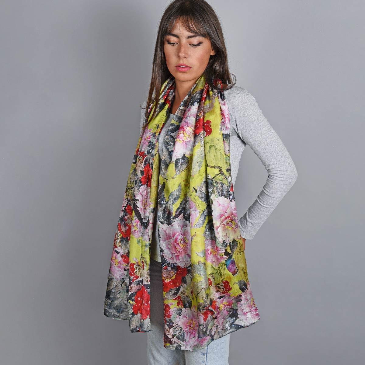_Etole-soie-florale-multicolore