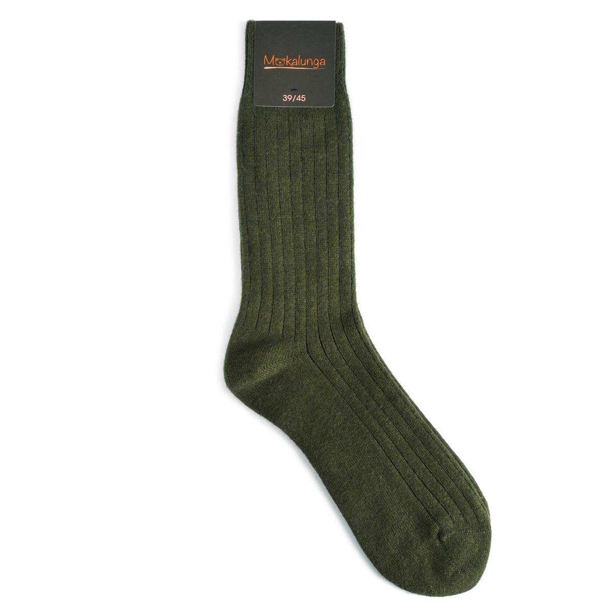 _Chaussettes-homme-laine-cachemire-kaki
