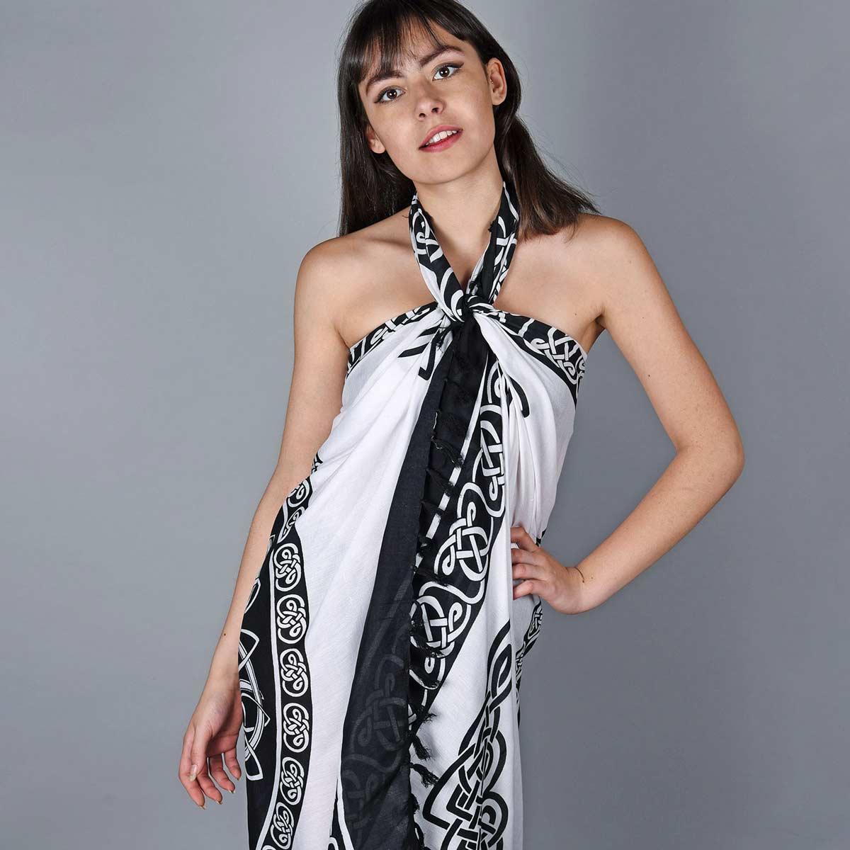 AT-06106_W12-1--_Pareo-femme-blanc-noir