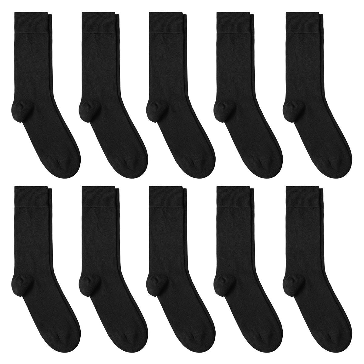 CH-00627_A12-1--_Lot-10-paires-de-chaussettes-homme-noires-unies