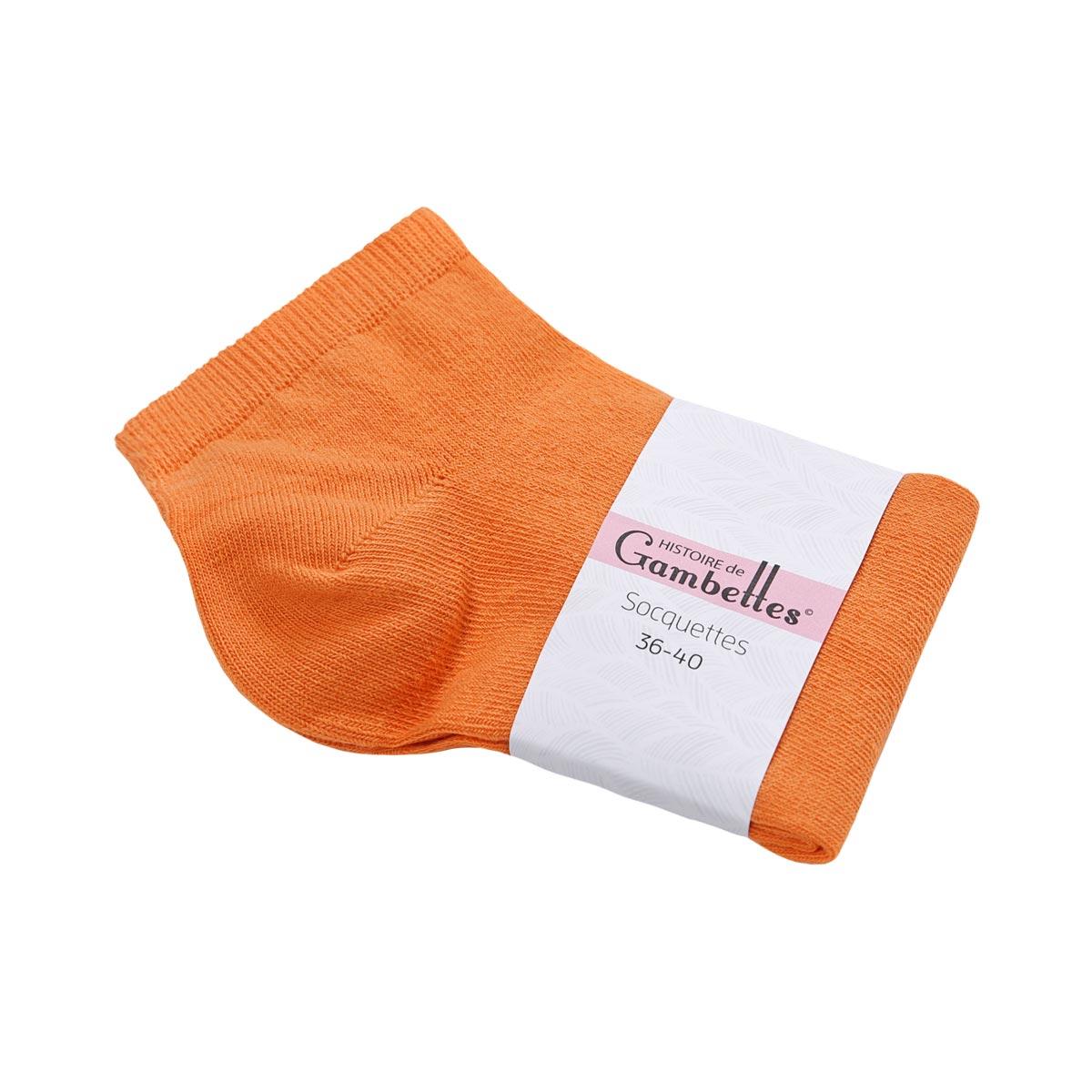 CH-00497_E12-1--_Soquettes-femme-coton-orange