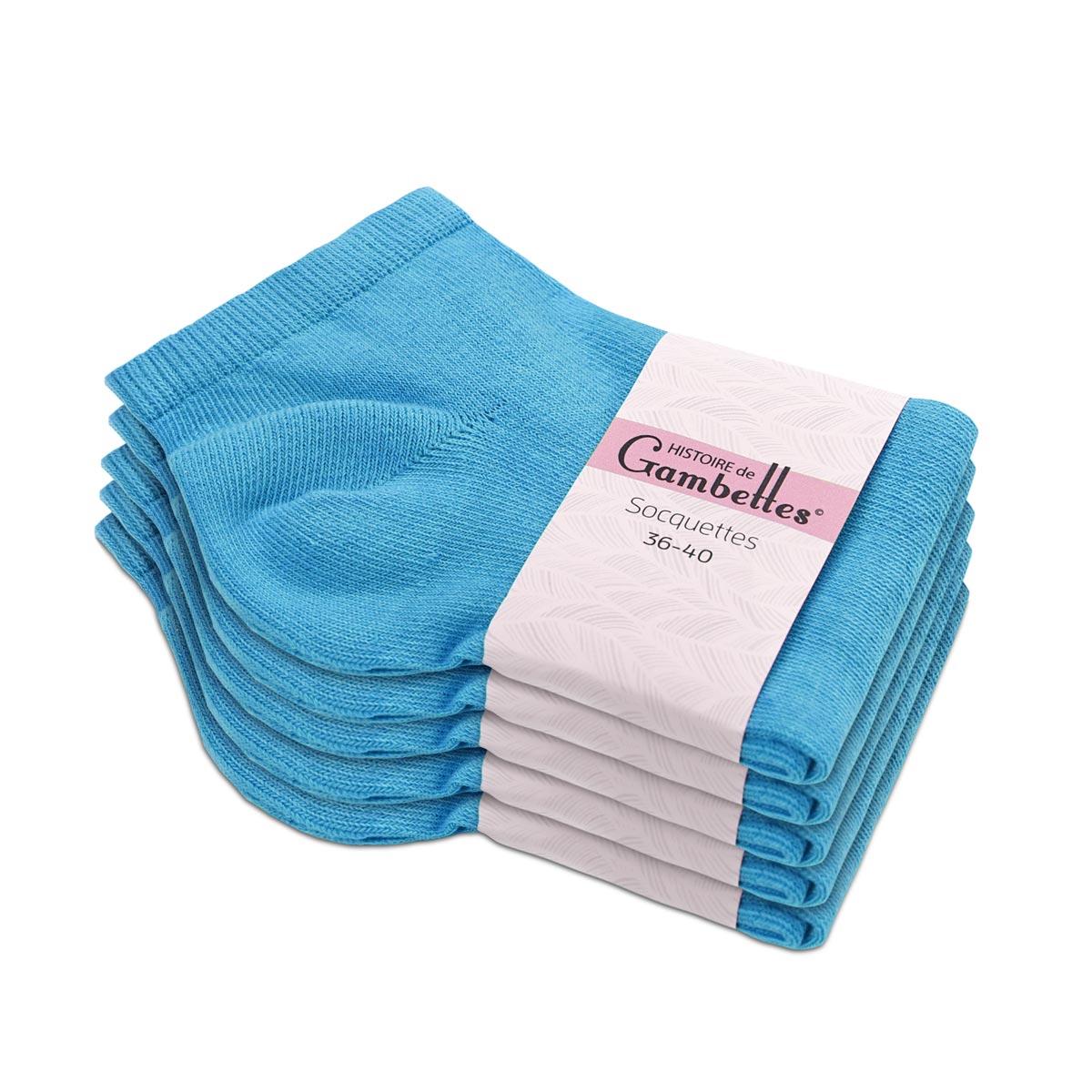 CH-00321_E12-1--_Soquettes-femme-bleu-5-paires