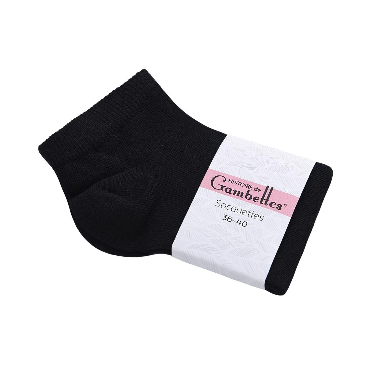CH-00502_E12-1--_Soquettes-coton-femme-noir