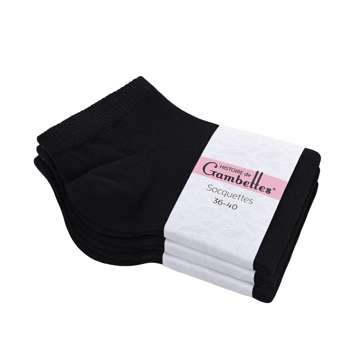 CH-00518_E12-1--_Soquettes-coton-femme-noir-3-paires