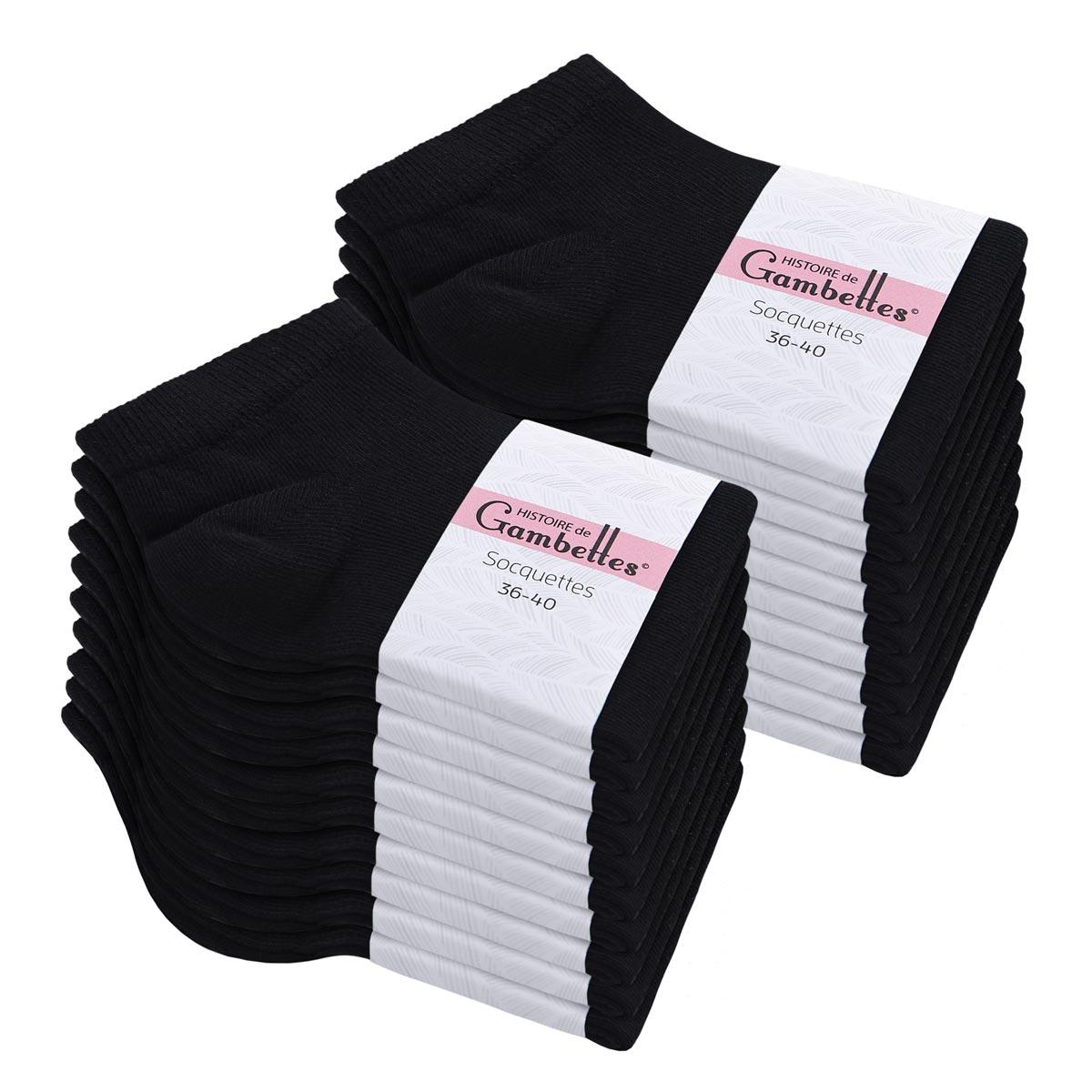 CH-00542_E12-1--_Soquettes-coton-femme-noir-20-paires