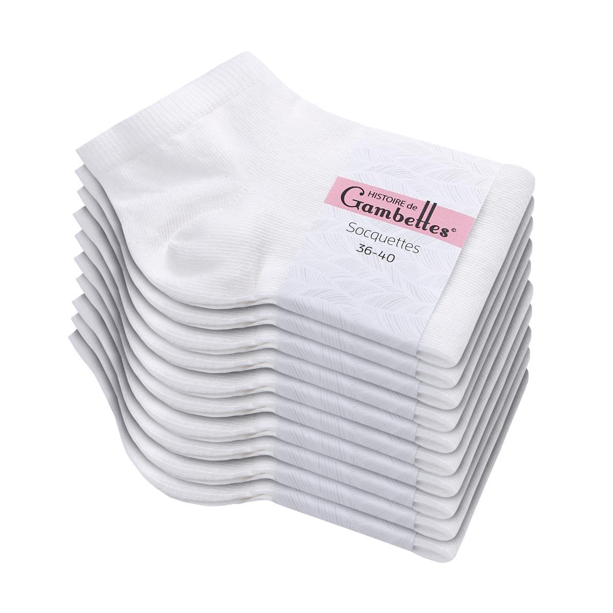 CH-00535_E12-1--_Soquettes-femme-blanches-lot-10-paires