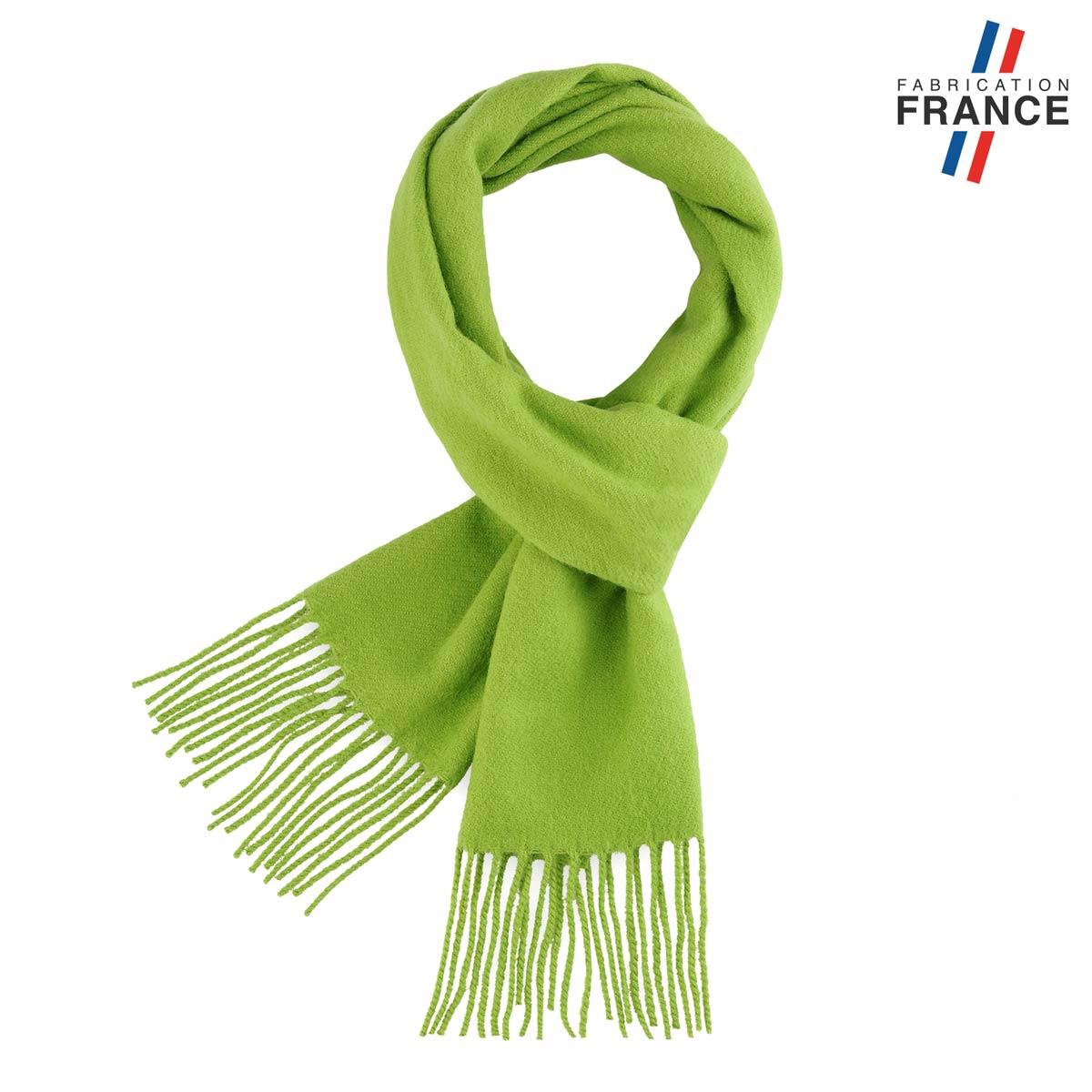 AT-05116_F12-1FR_Echarpe-verte-franges-fabrication-france