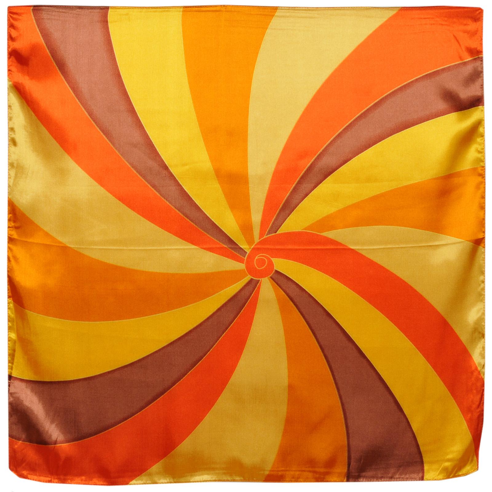 foulard-carré-tourniquet-orange-polysatin-AT-01717--A16