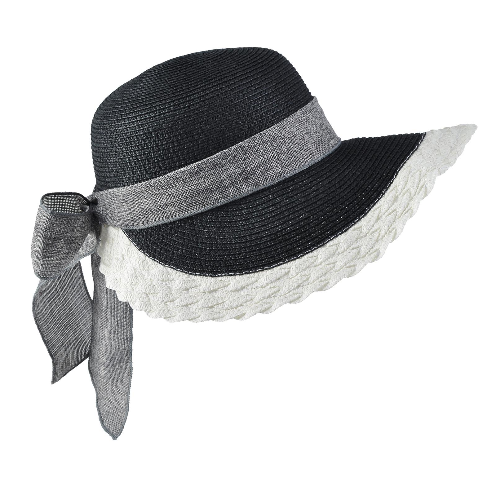 67a68f527d984 Chapeau casquette femme noir et blanc.