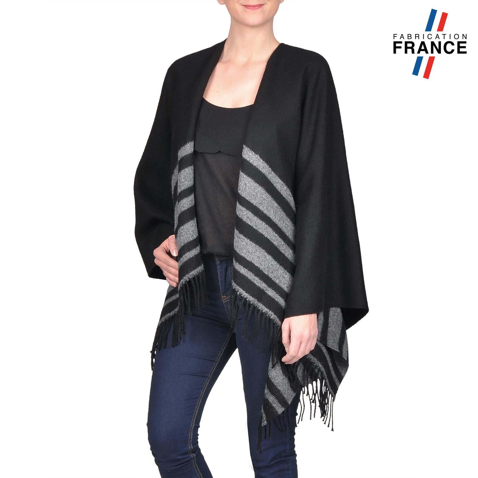 AT-03210-V16-poncho-franges-a-rayures-noir-gris