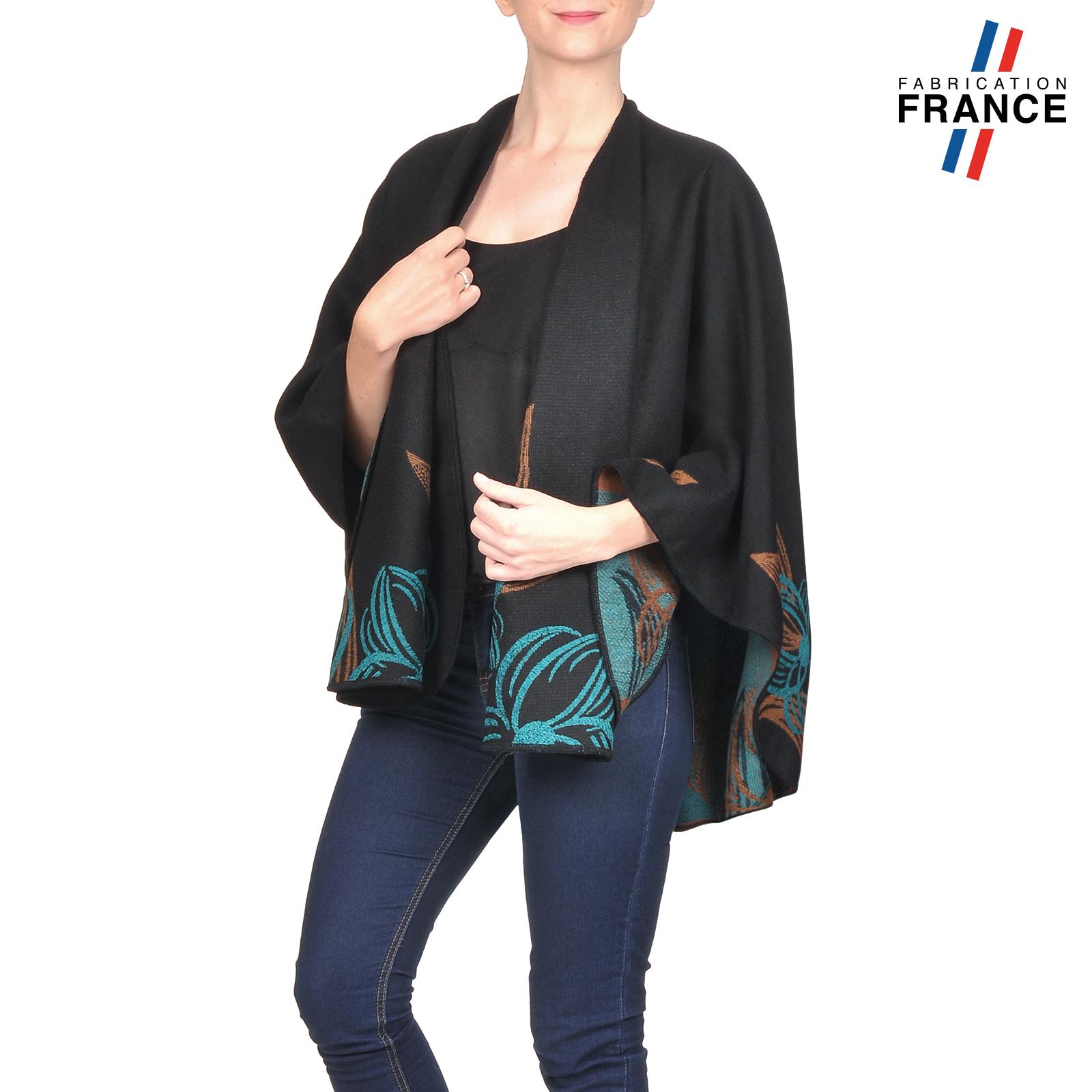 AT-03250-V16-poncho-femme-noir-fleurs-turquoise-fabrique-en-france (1)