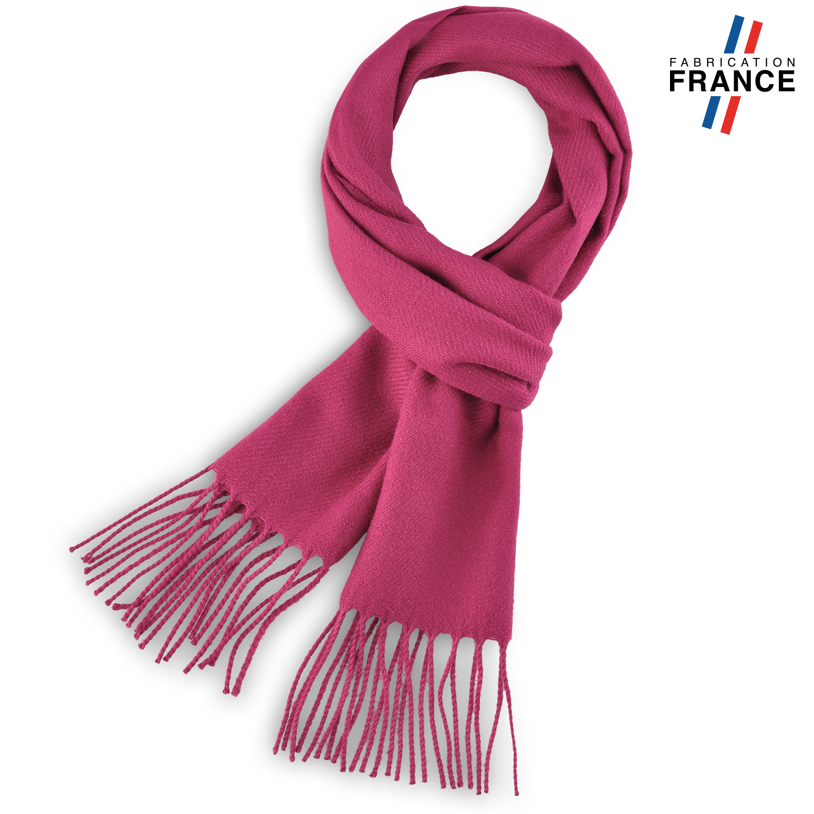 AT-03240-F16-echarpe-a-franges-rose-fuchsia-fabrication-francaise