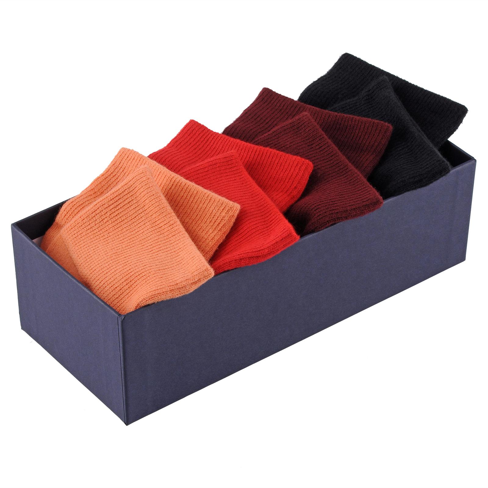 CH-00020-C16-Coffret-paires-chaussettes-homme-orange-rouge-noir