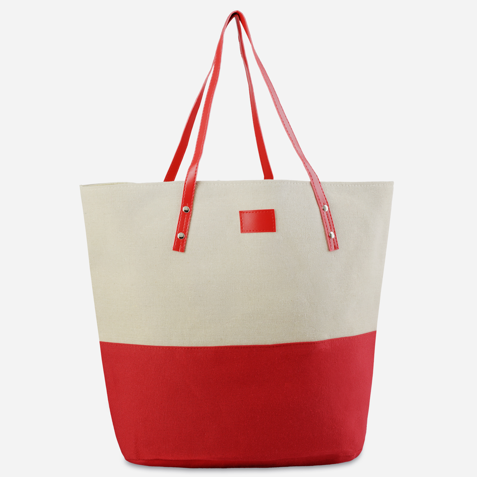 MQ-00100-rouge-naturel-F16-sac-plage-main-coton-rouge