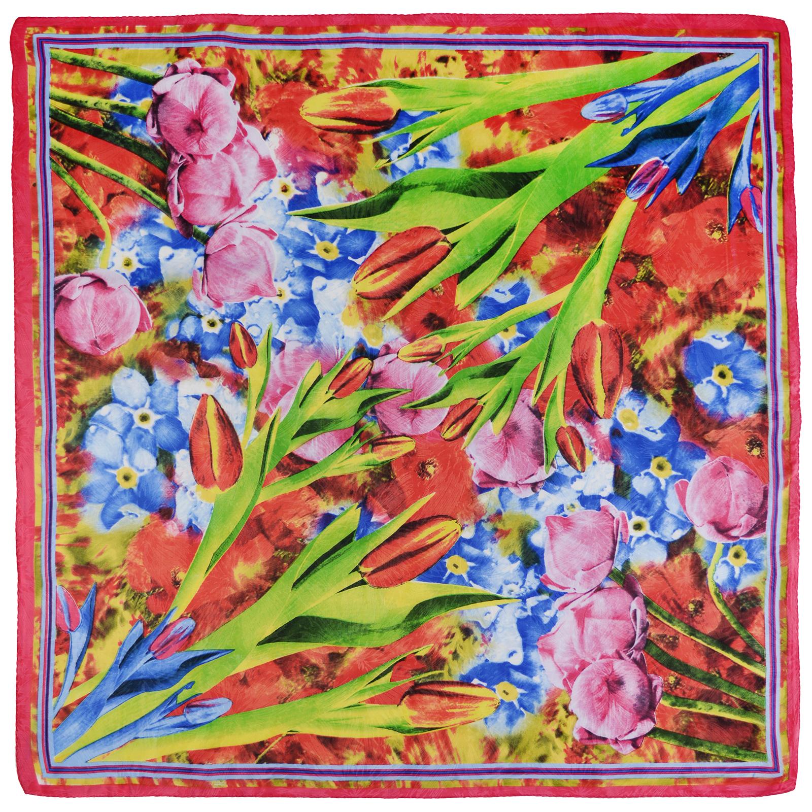 AT-03773-rouge-carre-soie-bourgeons-fleurs-multicolore-A16
