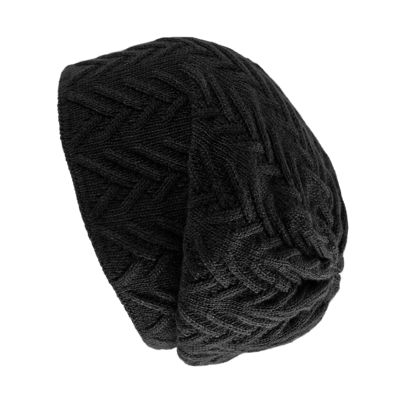 CP-00723-noir-bonnet-maille-chevrons-sombre-F16
