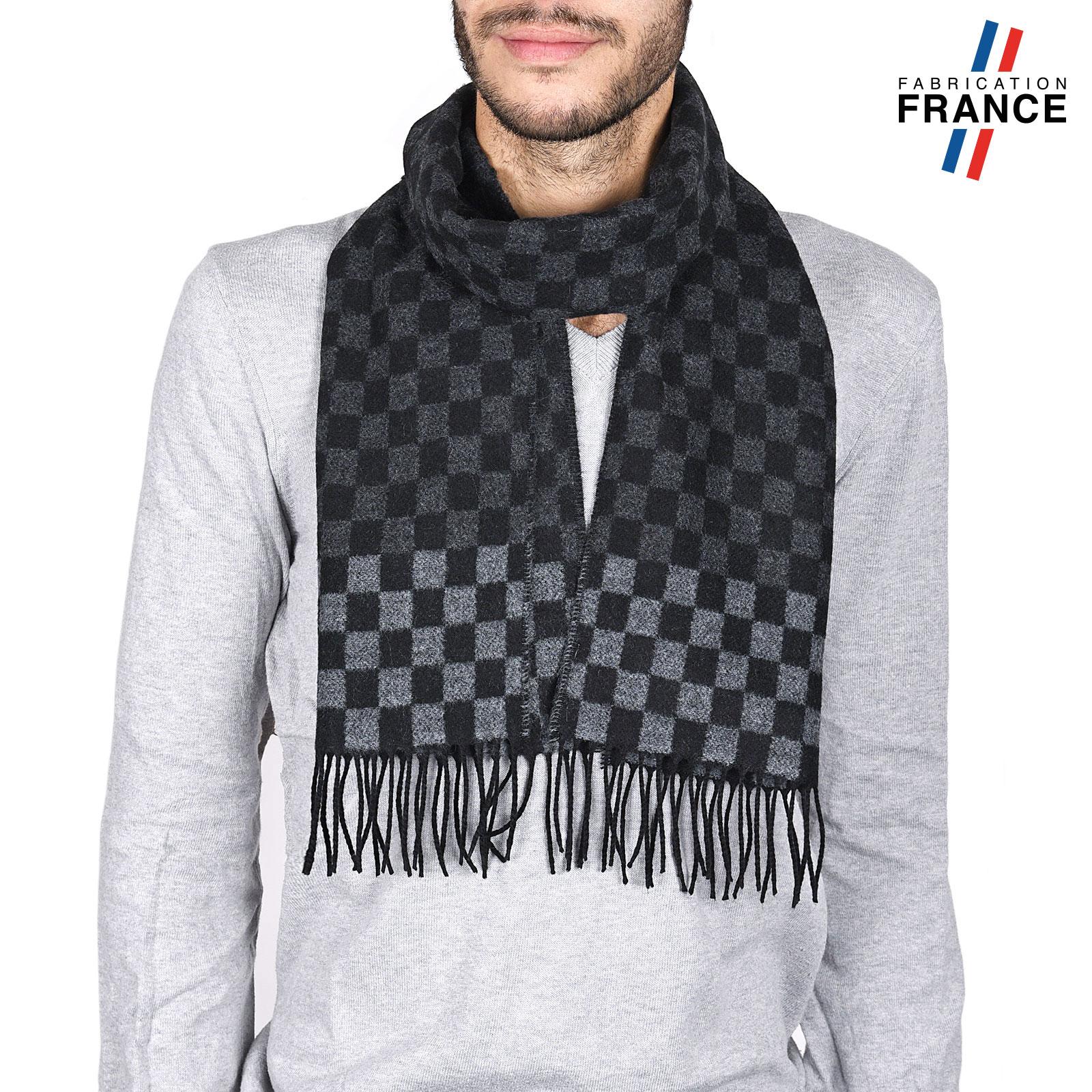 AT-03744-anthracite-noir-echarpe-homme-grise-damier-V16