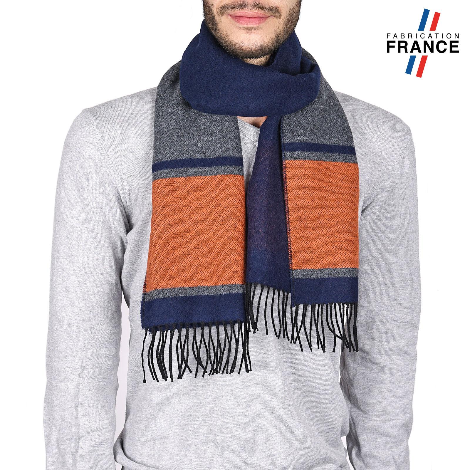 AT-03745-marine-orange-echarpe-homme-bleue-a-rayures-bleue-W16