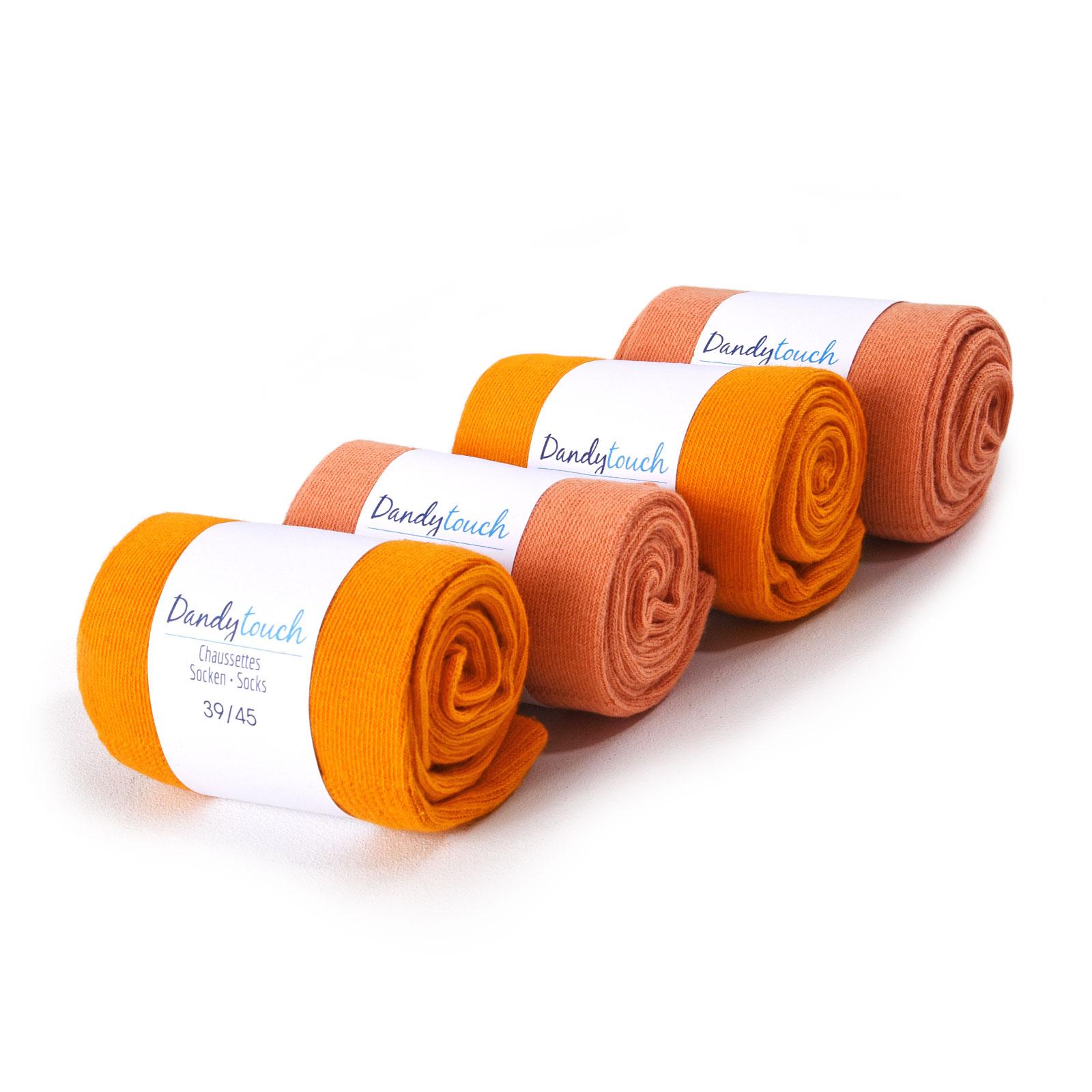 PK-00002-orange-saumon-F16-lot-4-paires-chaussettes-