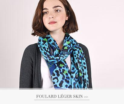 Foulard léger Skin