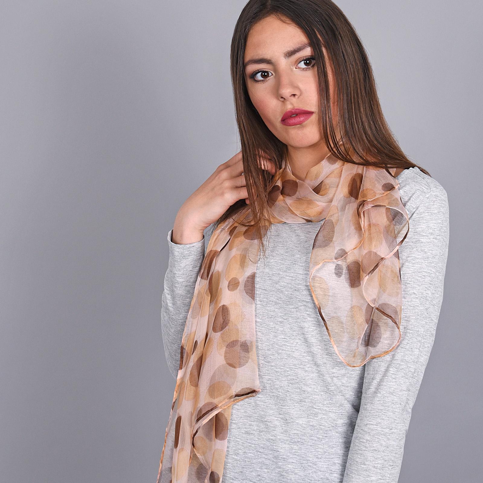 AT-03873-marron-V16-foulard-soie-pois-beige