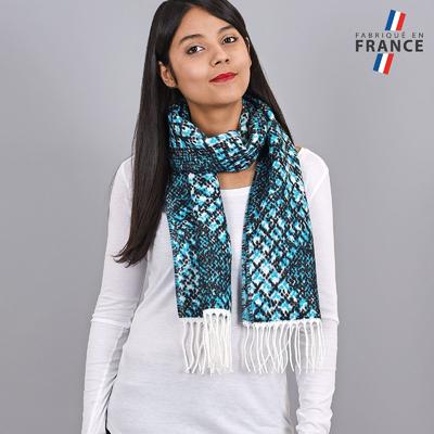 9c3af554f32 Echarpe bleu - Foulards femme et accessoires
