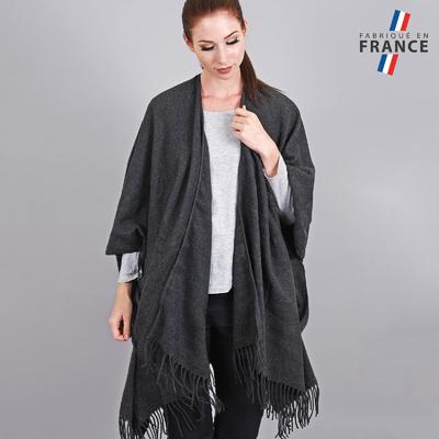 ponchos femme all e du foulard. Black Bedroom Furniture Sets. Home Design Ideas