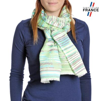 8a0fd1855a7 Echarpes et foulards fabriqués en France