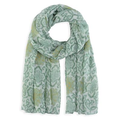 Foulard vert - Foulards femme et accessoires f98bbf78502