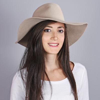 Chapeau femme laine Calia Beige 450b2c731ee