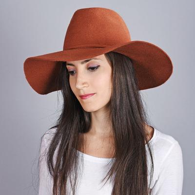 0c872ff17e Chapeau femme laine Calia Orange