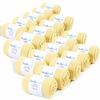 CH-00433-F16-lot-20-paires-de-chaussettes-homme-jaunes-pailles-unies