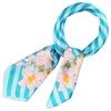 AT-01692-F10-2-foulard-carre-polysatin-fleurs-de-vanille-turquoise