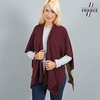 AT-03198-VF10-1-LB_FR-poncho-femme-gilet-bordeaux-beige-fabrication-francaise