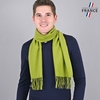 AT-03436-VH10-LB_FR-echarpe-homme-verte-franges-fabrication-france