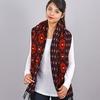 AT-03461-VF10-2-chale-femme-motifs-geometriques-marine-rouge